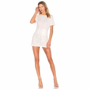 NWT Revolve X by NBD Cecil Dress in Ivory
